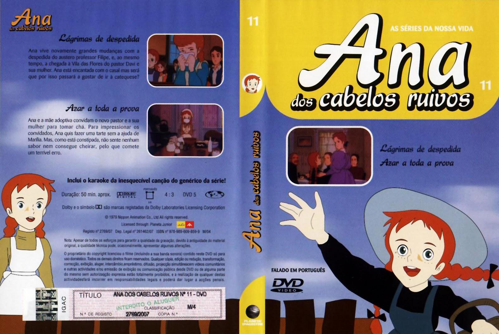 Ana dos Cabelos Ruivos Vol.1 A 25  PT-PT Ana+dos+Cabelos+Ruivos+Vol.11-capa