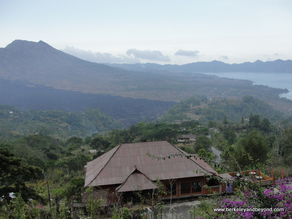 Mount Batur volcano and Lake Tegalalang in Bali, Indonesia