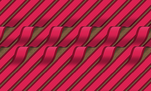 Red Hallway Runners Pattern