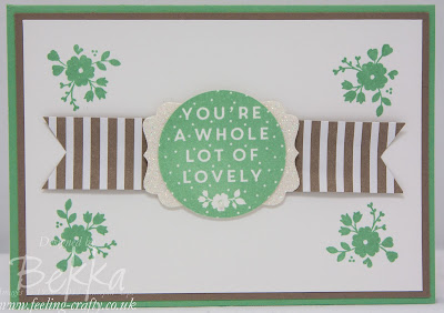 You're A Whole Lot of Lovely!  Check out the new Stampin'  Up! Catalogue Here