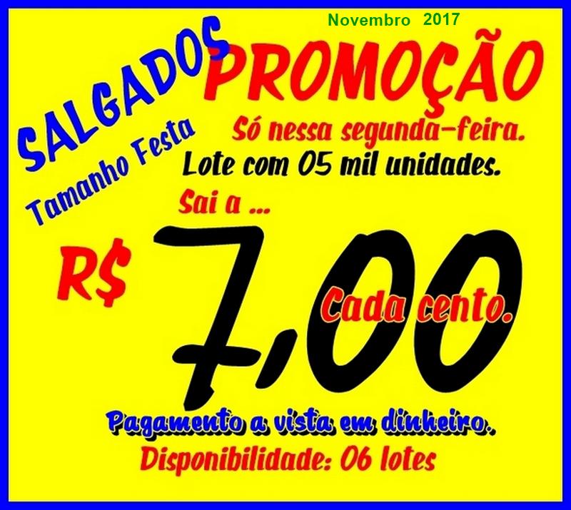 Salgados, Melhor Preço, Rio de Janeiro