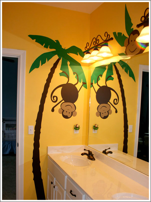 monkey bathroom decor bathroom ideas