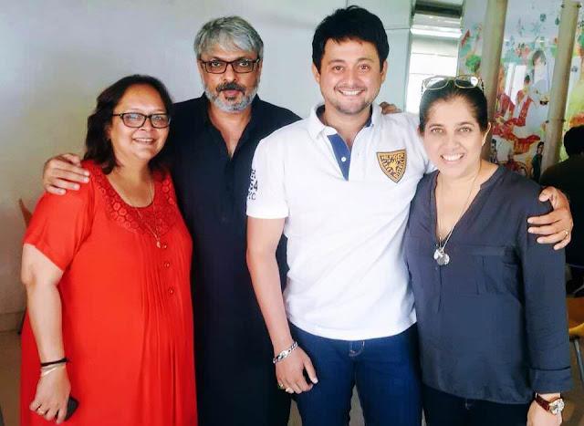 Swapnil Joshi in Sanjay Leela Bhansali's Marathi film