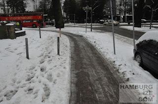 Veloroute 4 - Krugkoppel / Harvestehuder Weg