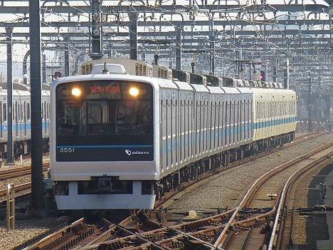 小田急電鉄 急行 向ケ丘遊園行き 3000形+8000形