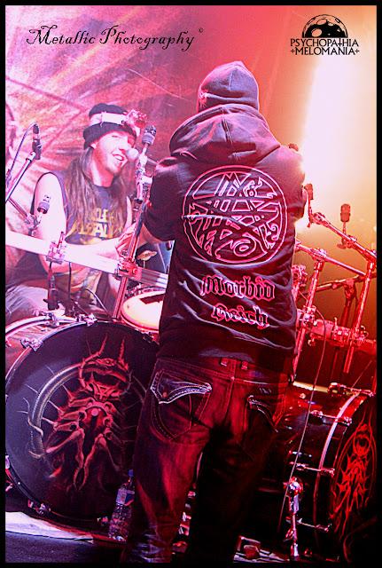 """Doug Anderson & Sven """"Svencho"""" de Caluwé (Aborted) @Bloodshot Dawn, Le Forum, Vauréal 02/02/2013"""