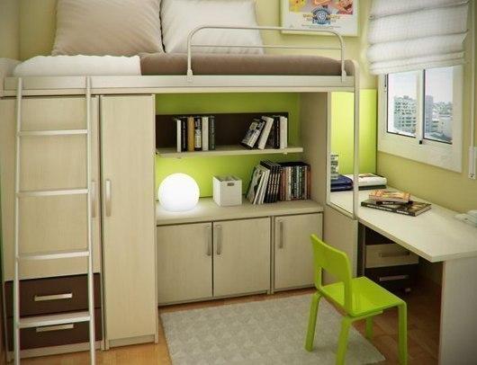 Dormitorios juveniles peque os dormitorios con estilo - Dormitorio pequeno juvenil ...