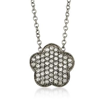Jewelry Flower Pendant Necklace