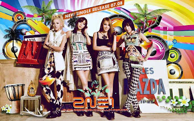 Video Klip Lagu 2NE1 - Falling In Love