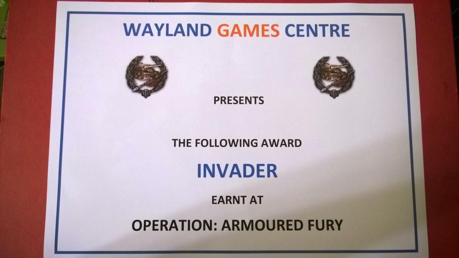 Wayland games tank wars