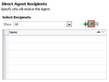 OBIEE Delivers Agent Recipients