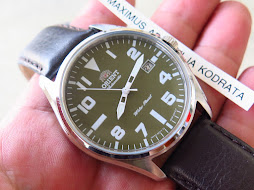 ORIENT MILITARY GREEN LUMUT DIAL - AUTOMATIC - BRAND NEW WATCH