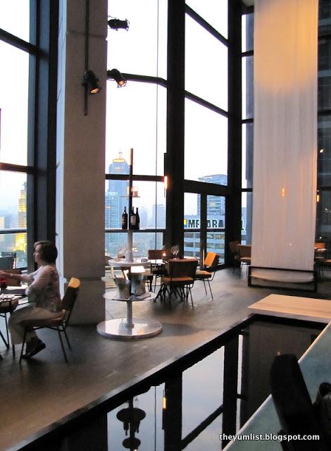 Cantaloupe, Sky Dining, The Troika, fine dining Kuala Lumpur
