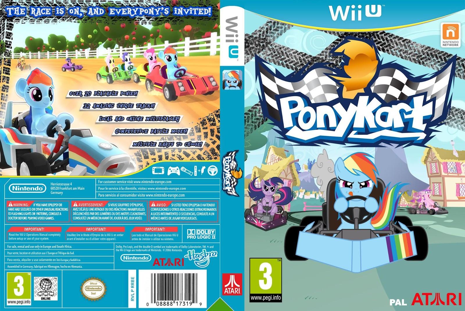 Capa Ponykart Wii U