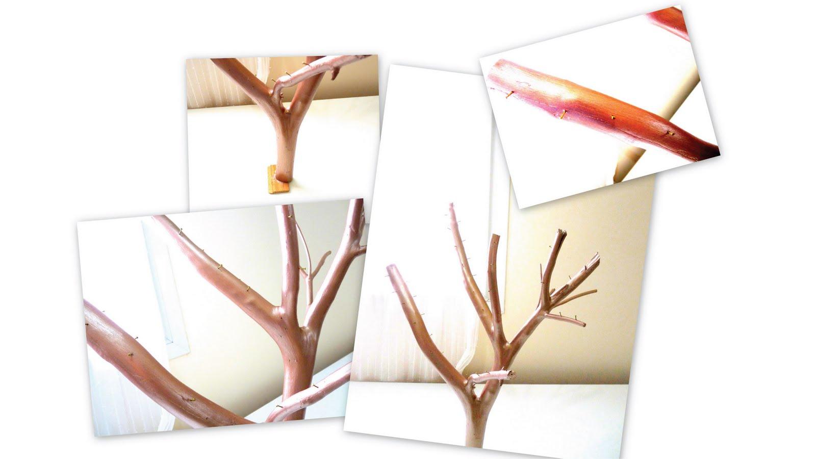 Fabriquer un porte bijoux arbre for Fabriquer un porte buche