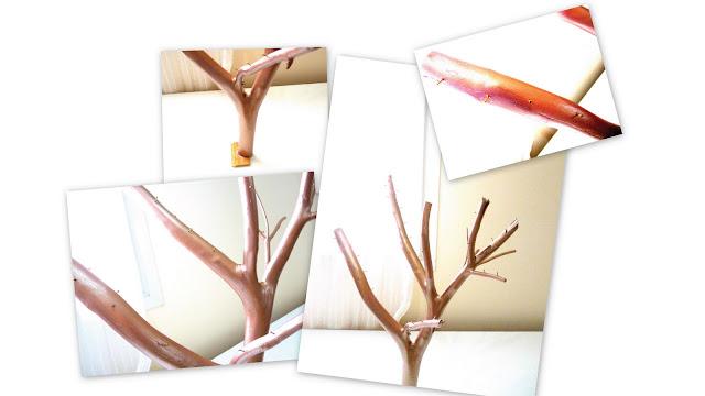 Un arbre bijoux id a lys - Fabriquer un arbre a bijoux ...