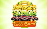 Promoção Aniversário Sonda www.aniversariosonda.com.br