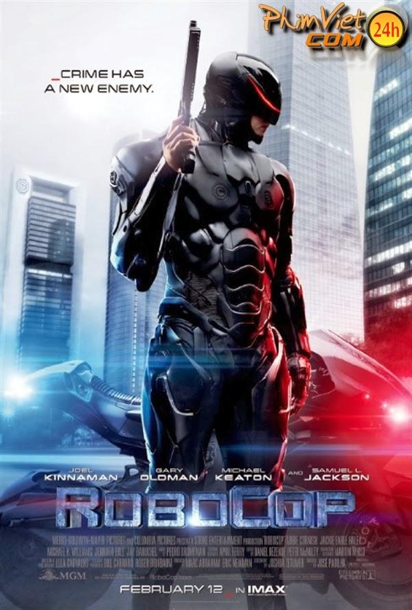 xem phim Cảnh Sát Người Máy - RoboCop 2014 full hd vietsub online poster