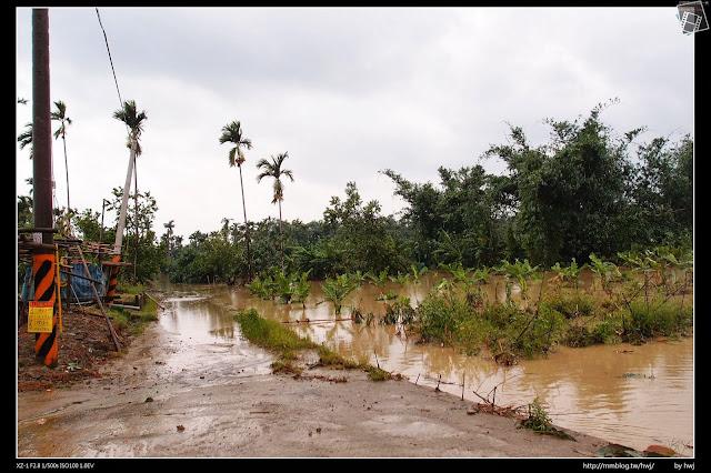 2013-07-13 蘇利颱風侵襲南投 農田都淹水了!
