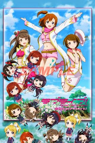Live Wallpaper Love Live School Idol Project Touch Touch Untuk