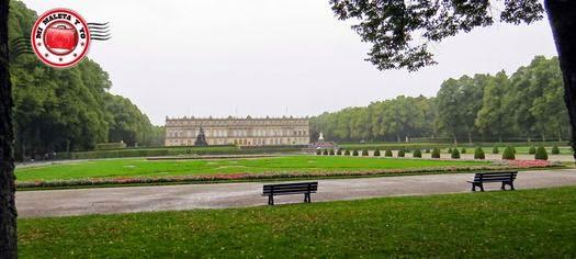 Palacio Herrenchiemsee, Baviera, Alemania