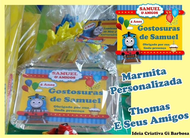 Aniversário do Samuel - Thomas e Seus Amigos