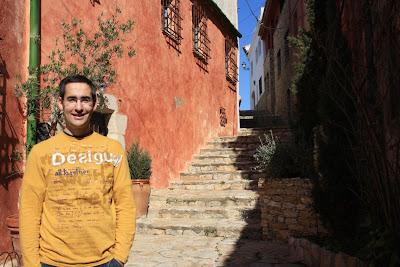 El carrer del Castell in Begur