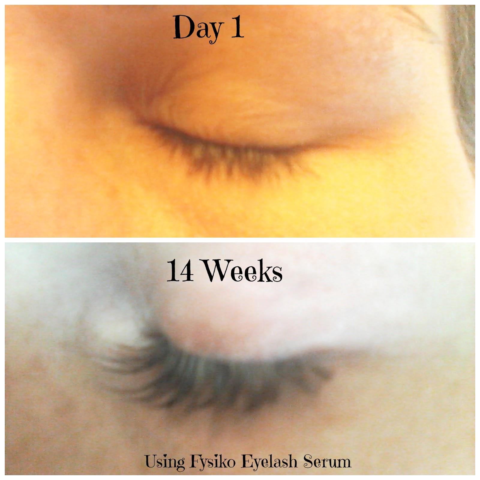My Fourth Month Using Fysiko Eyelash Growth Serum