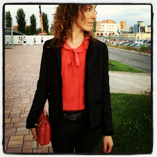 sofie red&black outfit