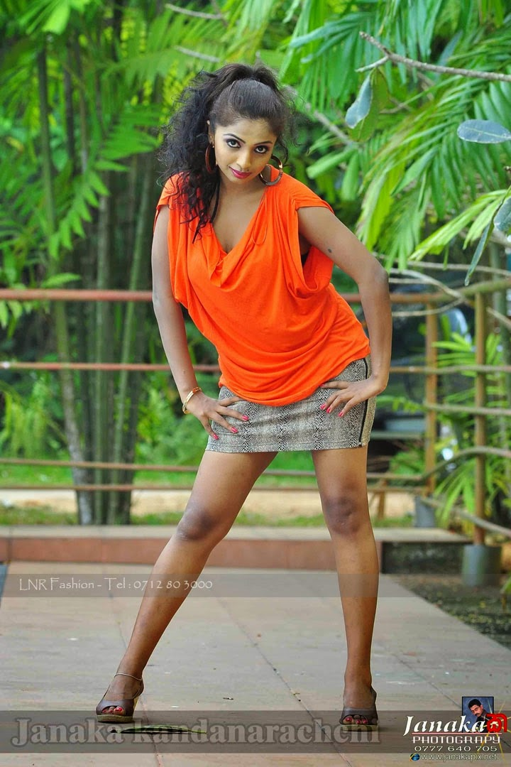 Lakshika Jayawardhana mini skirt