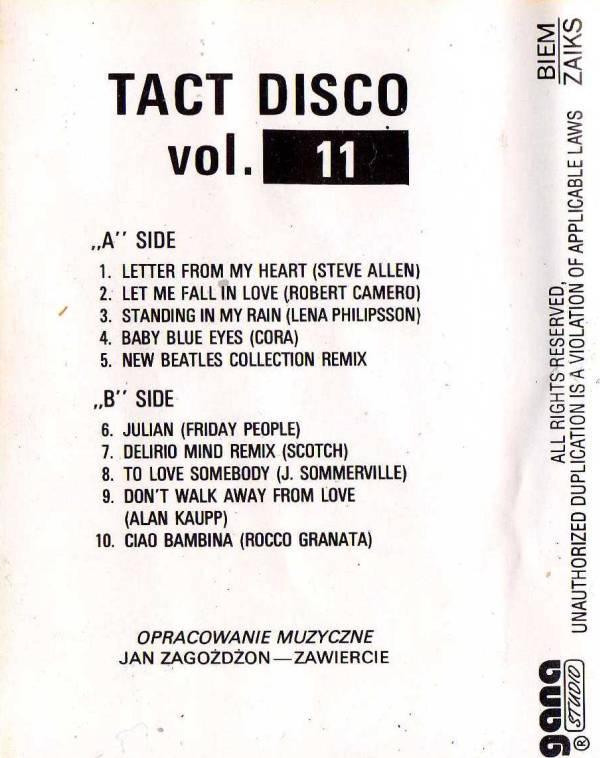 Va - Tact Disco Vol. 11 (Missing Album)