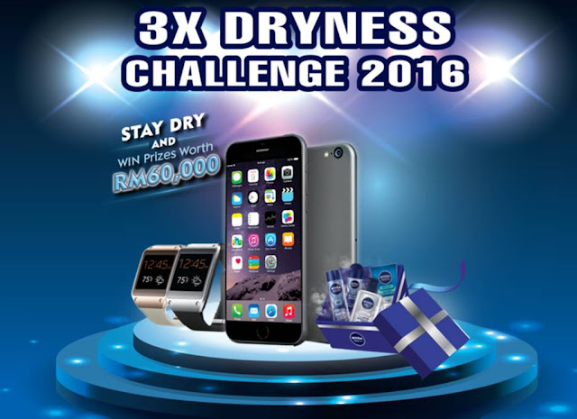 Nivea Men 3X Dryness Challenge Contest