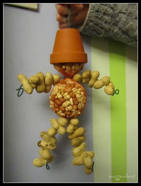 mannetje van pindanootjes