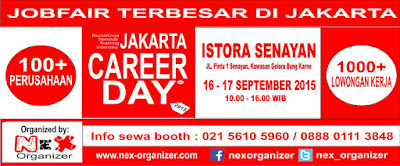 [Job Fair] Jakarta Career Day - September 2015