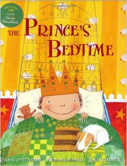 Barefoot Books Prince's Bedtime Book & CD Set in the April Citrus Lane Box