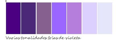 tonos color violeta relajantes
