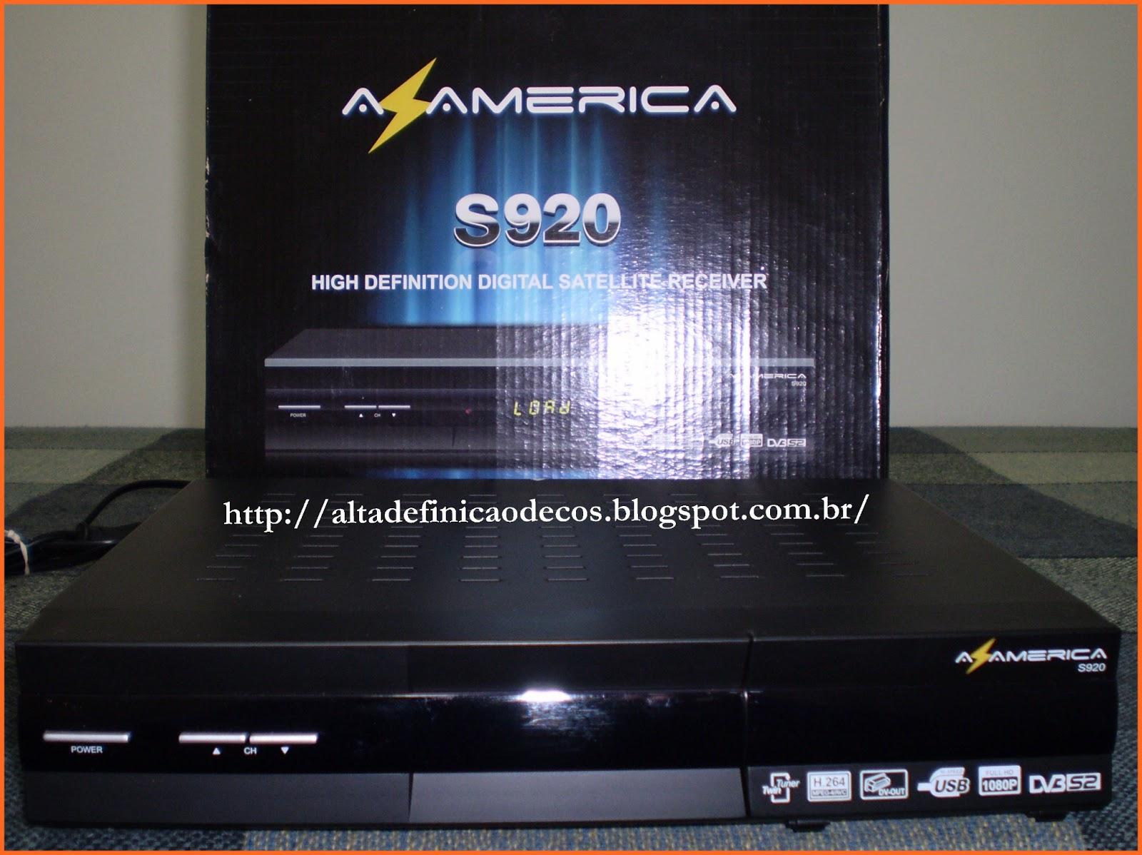 SOLUÇÃO AZAMERICA S920 TRANSFORMADO EM TOCOMSAT