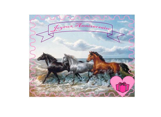 Super Carte anniversaire cheval - Carte Anniversaire - Idée d  YF58