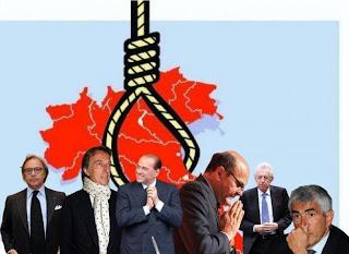 Valzer di poltrone: Monti bis, Draghi al Colle e il Cavaliere alla Camera.  Ecco l'Italia nel 2013