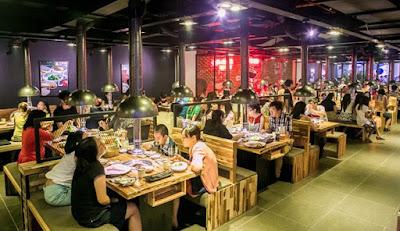 Địa điểm thiên đường ăn uống ở Sài Gòn