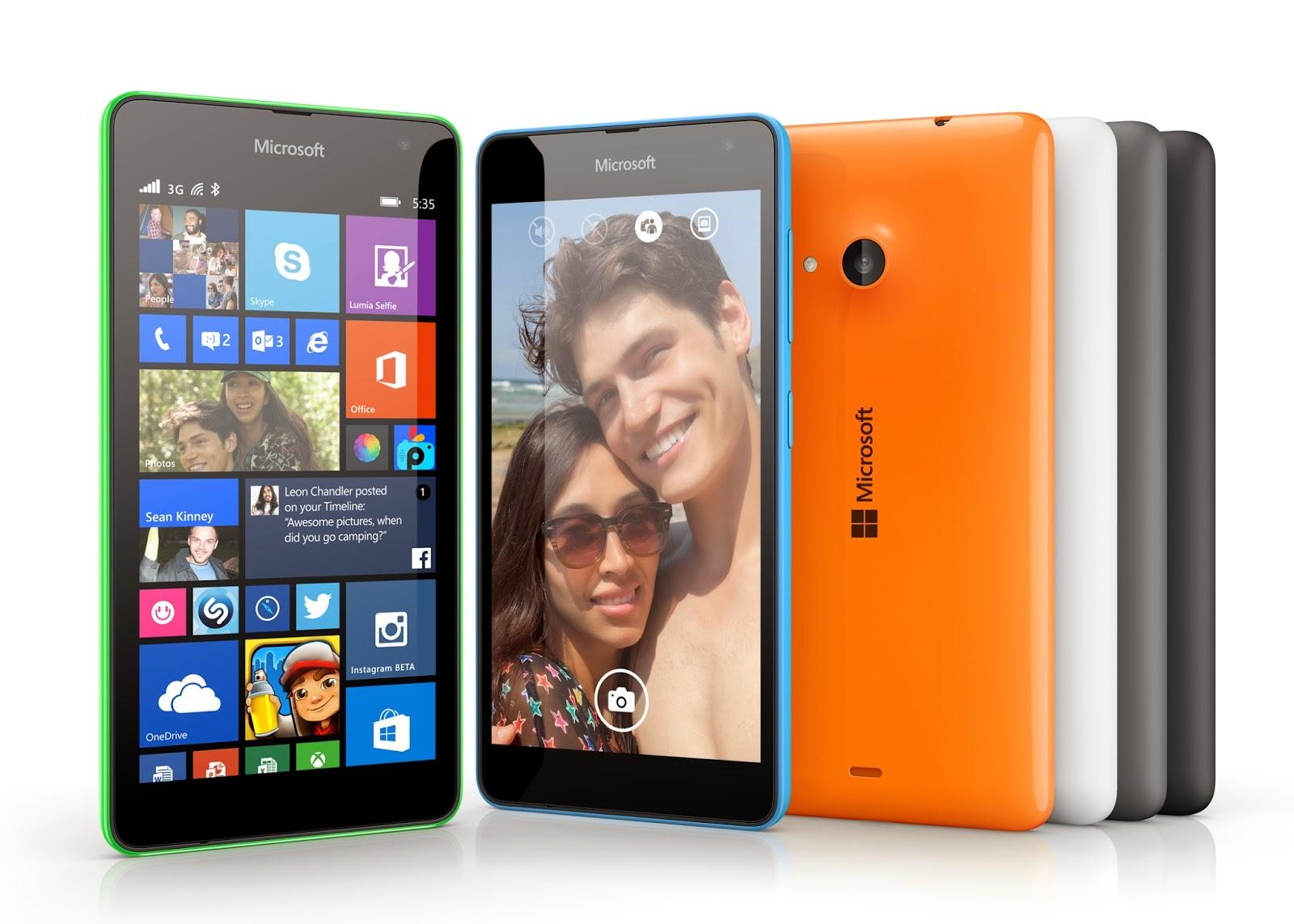 Harga dan Spesifikasi Lumia 535