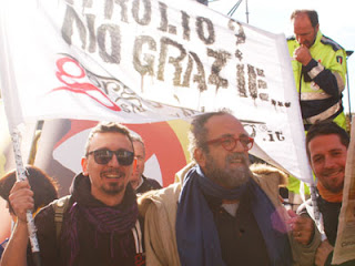 Garganistan Gargano Manifestazione NO TRIV Monopoli 21 Gennaio 2012
