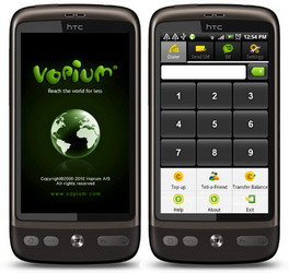 Updated version of Vopium for Android with Wi-Fi and 3G data calling available for download