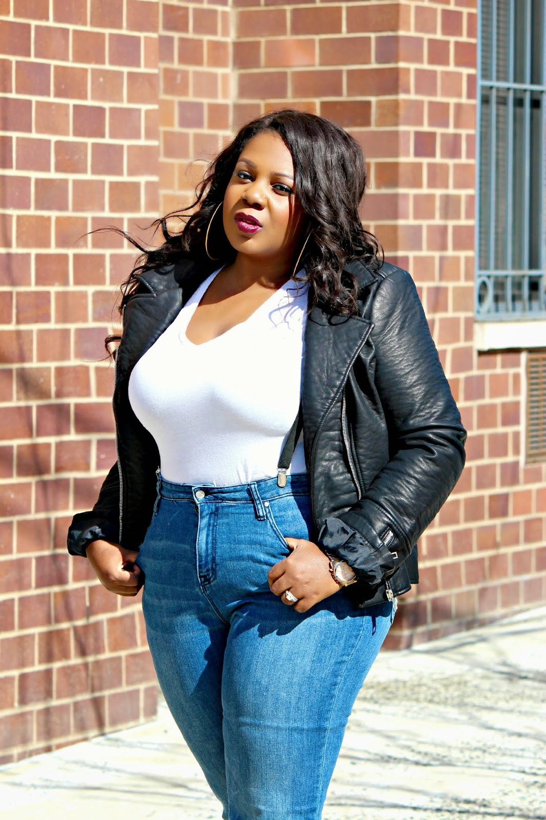 HOW TO STYLE WEAR HIGH WAIST FLARE JEANS
