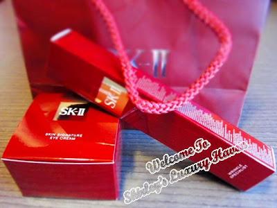 sk-ii signature goodie bag
