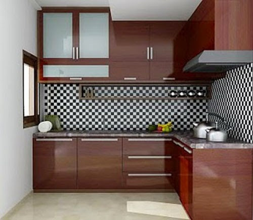 Simple minimalist kitchen design 2015 home design ideas 2015 for Model kitchen set sederhana