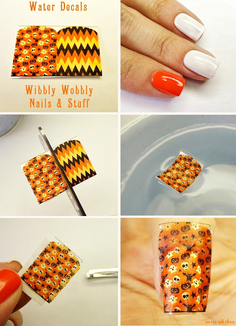 water decals de Wibbly Wobbly Nails & Stuff