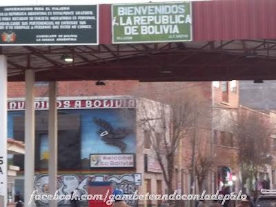 Bienvenidos a Bolivia - Gambeteandoconladepalo