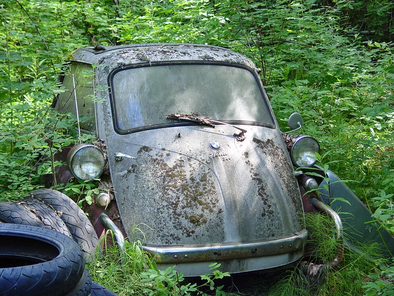 Abandoned Sports Cars And Barn Finds