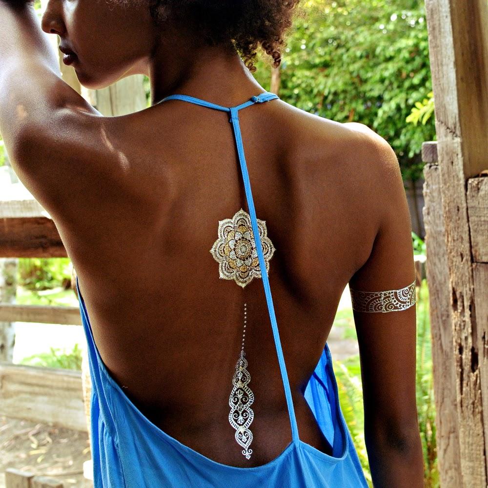 tatouage temporaire bijoux - Sioou Créateur de Bijoux Éphémères Sioou